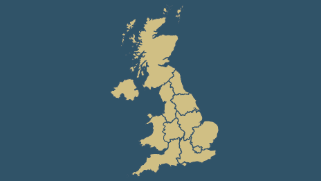 Map Of England Ireland Scotland Wales.2019 European Elections List Of Candidates Bbc News