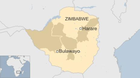 zim drought showing worst affected provinces