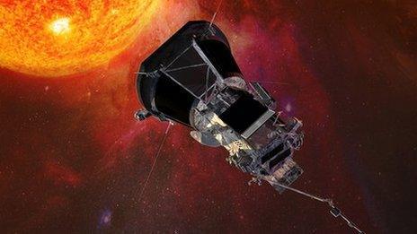 Artwork: Parker Solar Probe