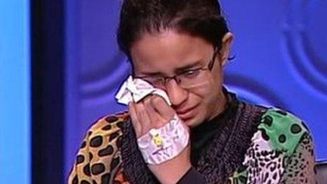 Egyptian student Mariam Malak says she's a victim of corruption and fraud.