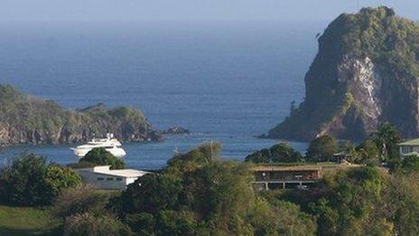 St Vincent and the Grenadines landscape