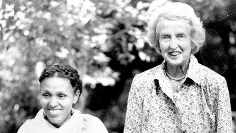 Dr Hamlin with Mamitu Gashe in 1994