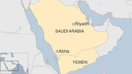 Map of Abha
