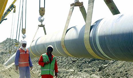 Baku-Tbilisi-Ceyhan (BTC) pipeline