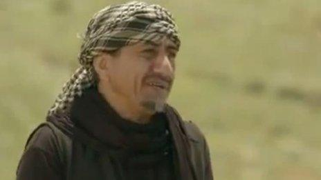 Saudi comedian, Nasser Al-Qasabi, plays the role of a father searching for his son who joined IS in Syria