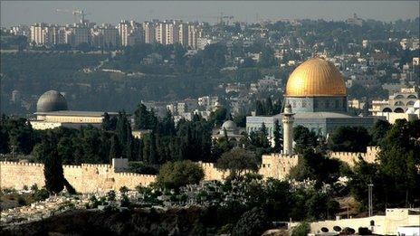 View of East Jerusalem (photo: Martin Asser)