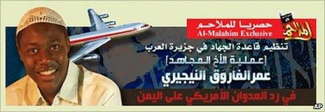 Internet statement purported published by al-Qaeda in the Arabian Peninsula claiming responsibility for failed attack on Northwest Airlines Airbus A330