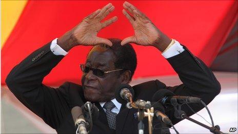 Robert Mugabe (September 2010)