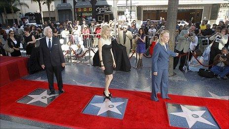 Bruce Dern, Laura Dern and Diane Ladd