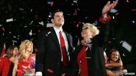 Marco Rubio and family