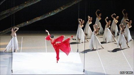 The National Ballet of China are one of the companies who will perform in Edinburgh