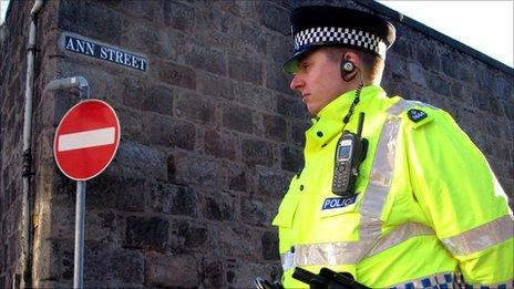 Police at Ann Street