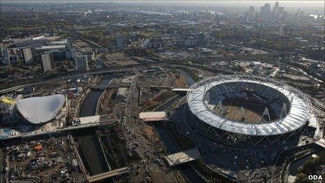 Olympic Park site