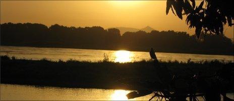 The River Nile in Juba