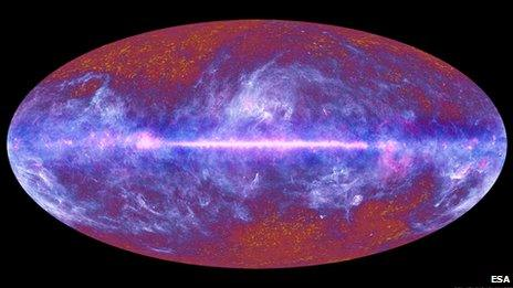 Cosmos may show echoes of events before Big Bang