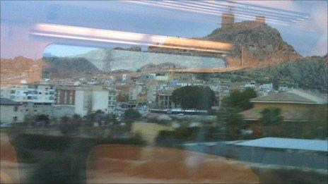 Castle on the hill, San Blas