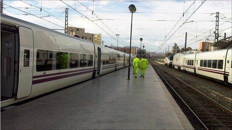 Alicante rail station