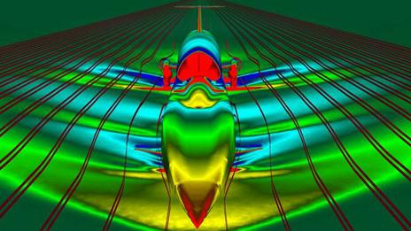 Computerised images of Bloodhound. Pic: Swansea University