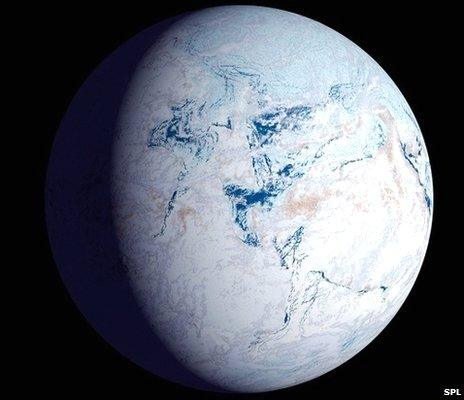 Life may have survived 'Snowball Earth' in ocean pockets