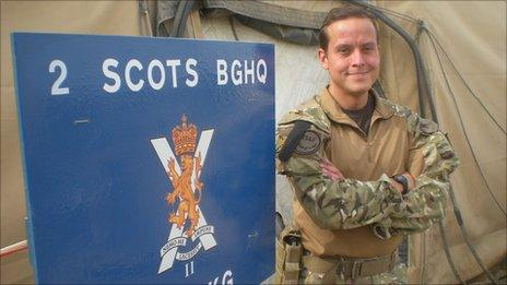2 SCOTS in Afghanistan