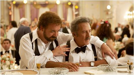 Paul Giamatti and Dustin Hoffman