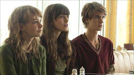 Carey Mulligan, Keira Knightley and Andrew Garfield in Never Let Me Go