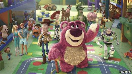 Scene from Toy Story 3