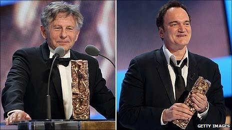 Roman Polanski and Quentin Tarantino
