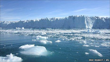 Edge of the ice sheet