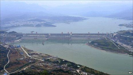 Three Gorges Dam in Yichang, China (file image)