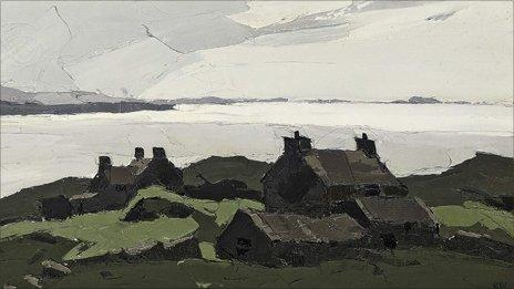 Porth Dafarch on Anglesey by Sir Kyffin Williams