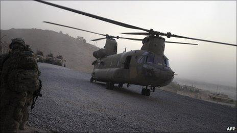 US probes Afghanistan special forces helicopter crash