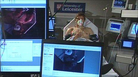 University of Leicester's new medical equipment