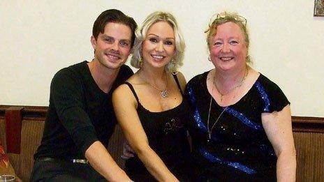 Denise Sides with Brian Fortuna and Kristina Rihanoff