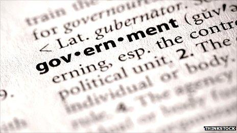 The word government