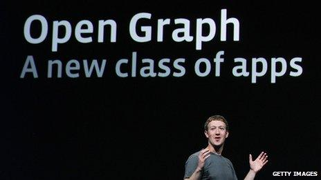 Mark Zuckerberg presents Facebook's Open Graph