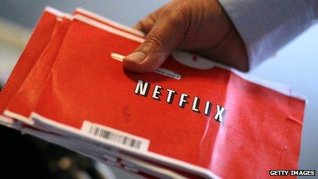 A Netflix package