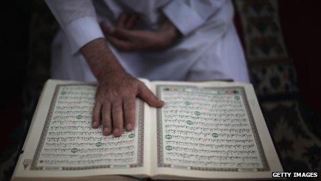 Darllen y Koran