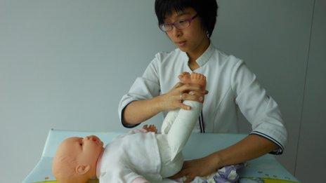 Nurse Wendy Lam