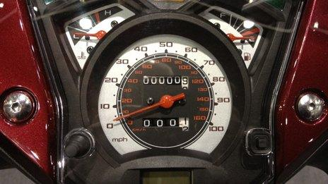 Scooter dashboard