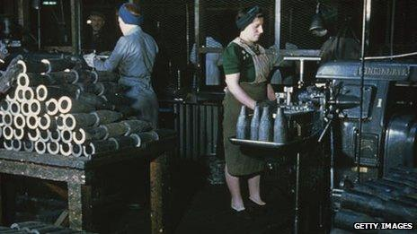 Munitions factory in UK