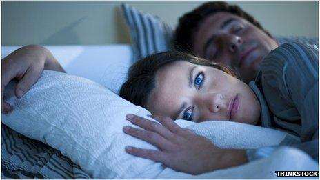 Turn woman sleeping to while a how on How to