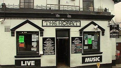 The Hobbit pub, Bevois Valley