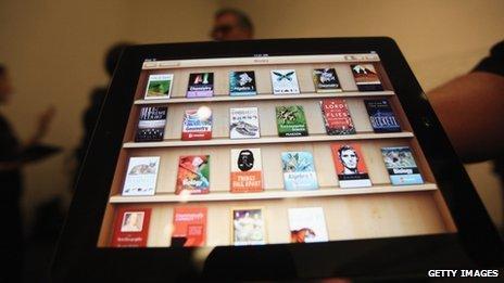 iBooks on iPad