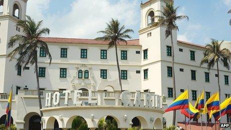 Hotel Caribe, Cartagena, Colombia 15 April 2012