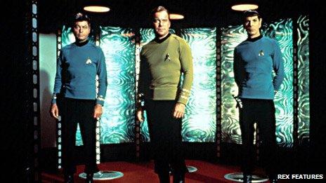 Beaming, Star Trek style