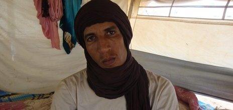 MNLA fighter Abdul Aziz Ag Mohamed