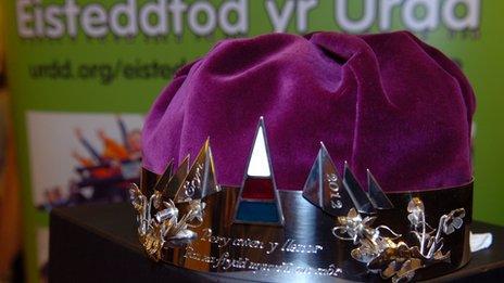 Coron Eisteddfod yr Urdd 2012