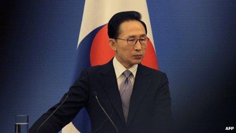 The South Korean president