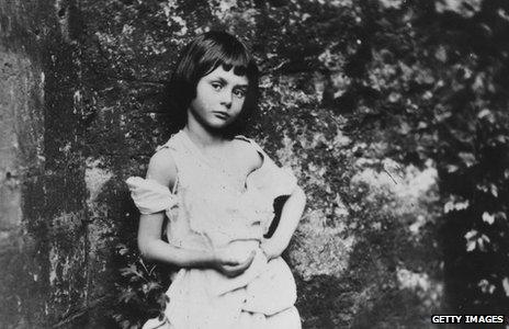 Alice Liddell as photographed by Lewis Carroll